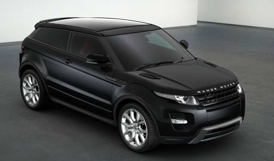 this week s task build your ideal range rover evoque tony marturano. Black Bedroom Furniture Sets. Home Design Ideas