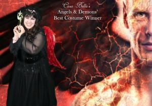 BEST COSTUME WINNER, Francesca Marturano Pratt