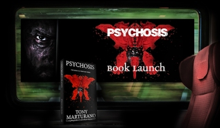 PSYCHOSIS BOOK LAUNCH – ON A TRAIN?